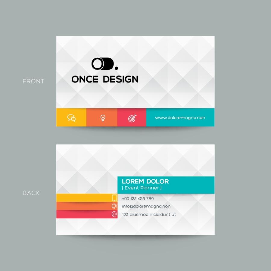 Visitenkarte Entwicklung Design Bsp 1